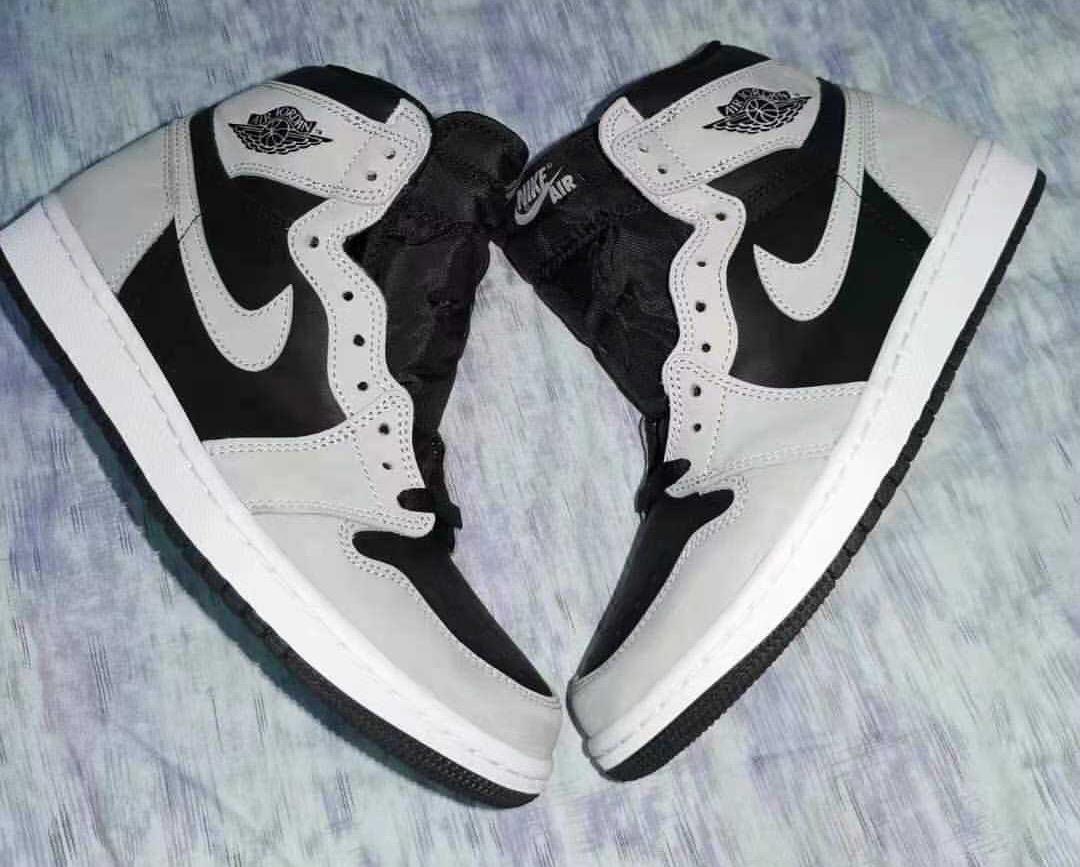 Air Jordan 1 Shadow 2.0 Light Smoke Grey 555088-035 Release Price