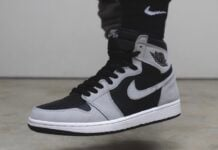 Air Jordan 1 Shadow 2.0 Smoke Grey 555088-035