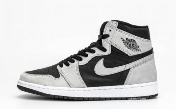 Air Jordan 1 Shadow 2.0 Smoke Grey 555088-035 Release Info