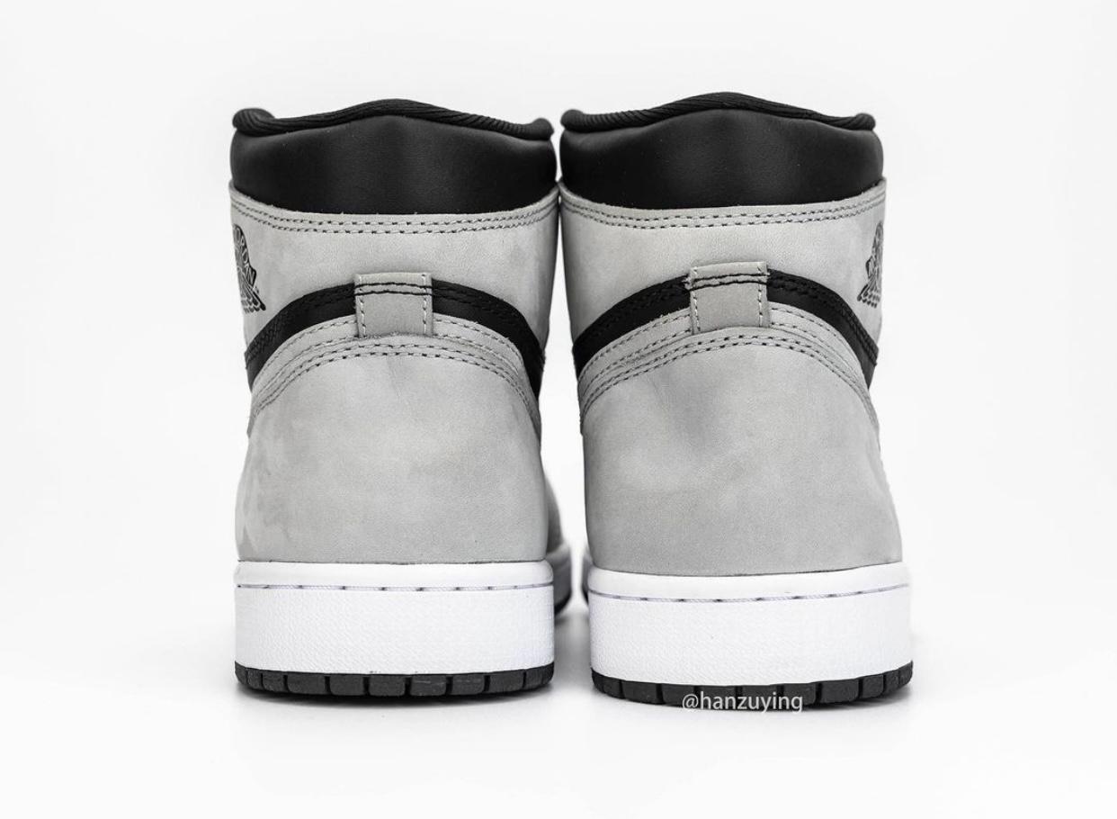Air Jordan 1 Shadow 2.0 Smoke Grey 555088-035 Release Info