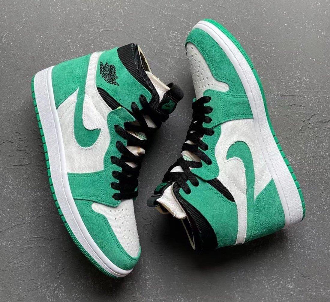 Air Jordan 1 Zoom Comfort Stadium Green CT0978-300 Release Date
