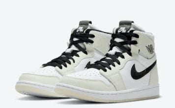 Air Jordan 1 Zoom Comfort White Black CT0979-002 Release Date Info
