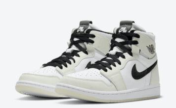 Air Jordan 1 Zoom Comfort White Black CT0979-002 Release Date Info