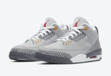 Air Jordan 3 Cool Grey CT8532-012 Release Info Price