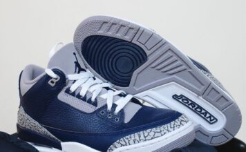 Air Jordan 3 Georgetown Midnight Navy CT8532-401 Release Price