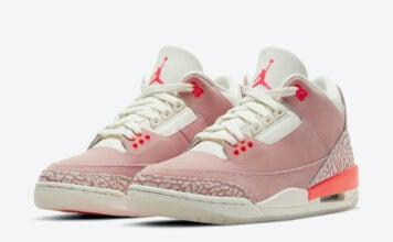 Air Jordan 3 Rust Pink Crimson CK9246-600 Release Date Info