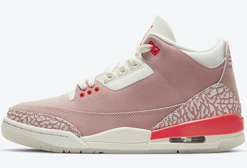 Air Jordan 3 Rust Pink Crimson Release Date