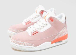 Air Jordan 3 Rust Pink Womens CK9246-600 Release Date Info