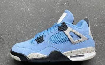 Air Jordan 4 University Blue Release Date CT8527-400