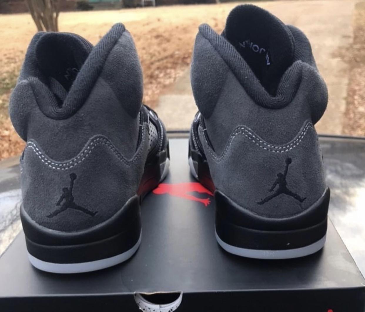 Air Jordan 5 Anthracite Release Info DB0731-001