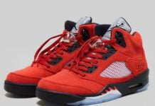 Air Jordan 5 Raging Bull Varsity Red DD0587-600 Release Date