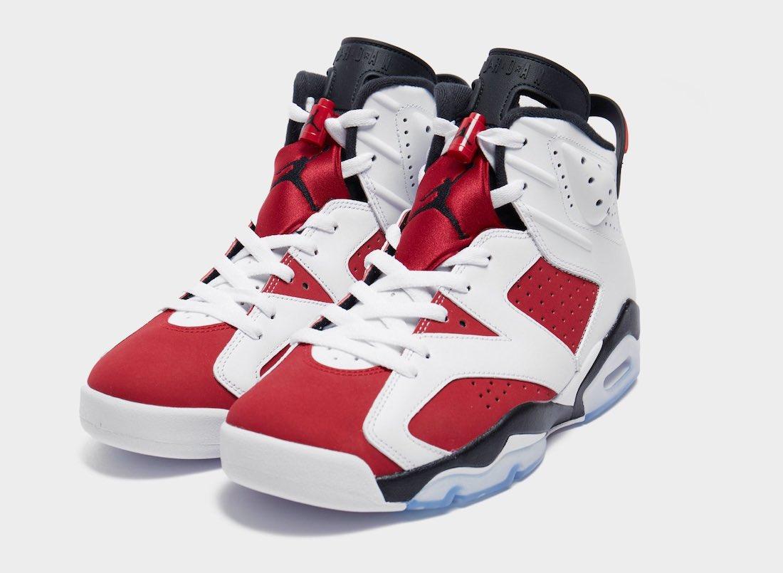 Air Jordan 6 Carmine CT8529-106 Release Details