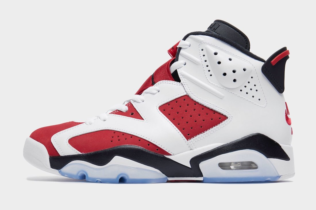 Air Jordan 6 Carmine CT8529-106 Side