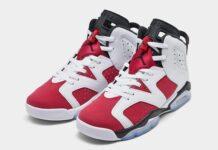 Air Jordan 6 Carmine GS 384665-106