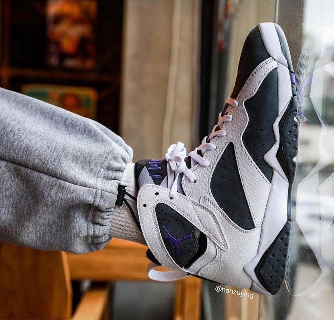 Air Jordan 7 Flint 2021 CU9307-100 On-Feet