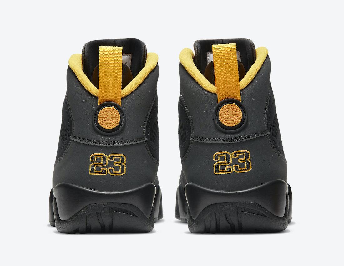 Air Jordan 9 University Gold CT8019-070 Release Details