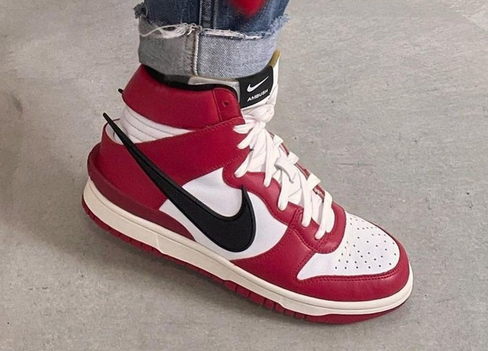 Ambush Nike Dunk High Chicago Release Date Info
