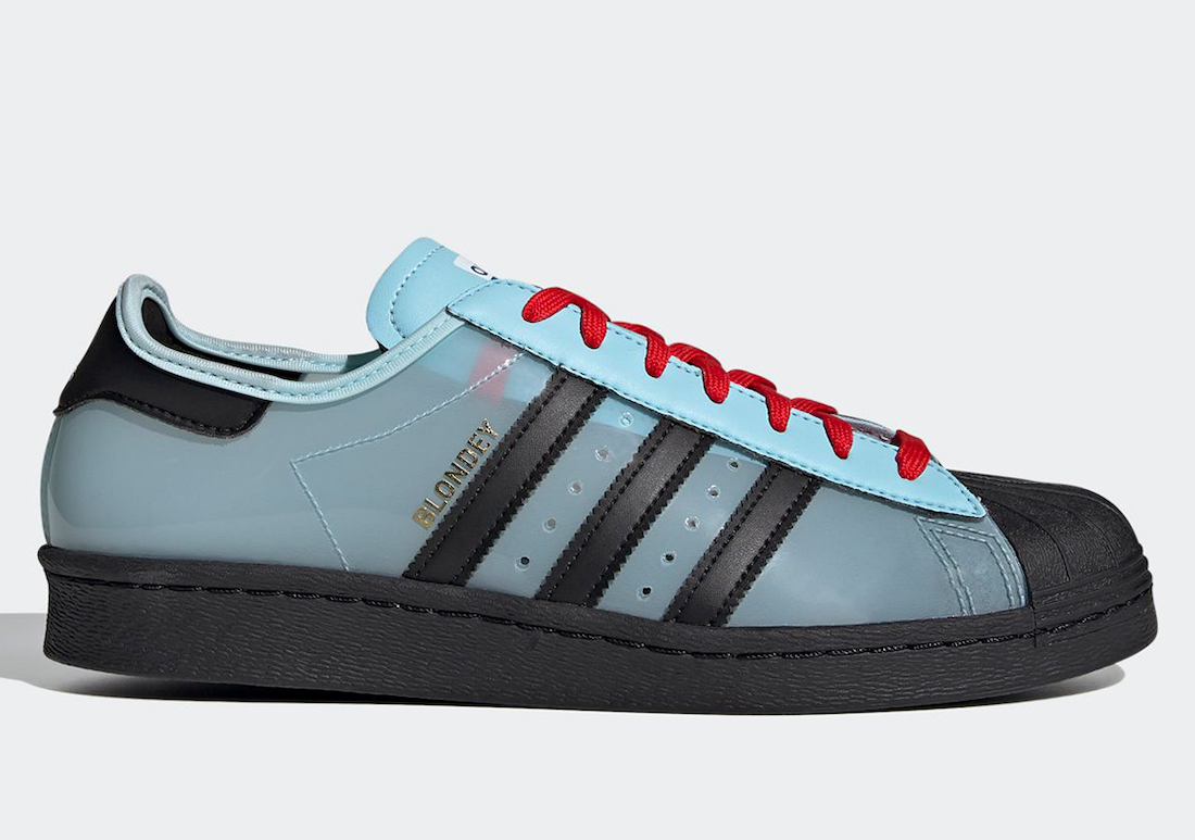 Blondey McCoy adidas Superstar Icey Blue H03341 Release Date Info