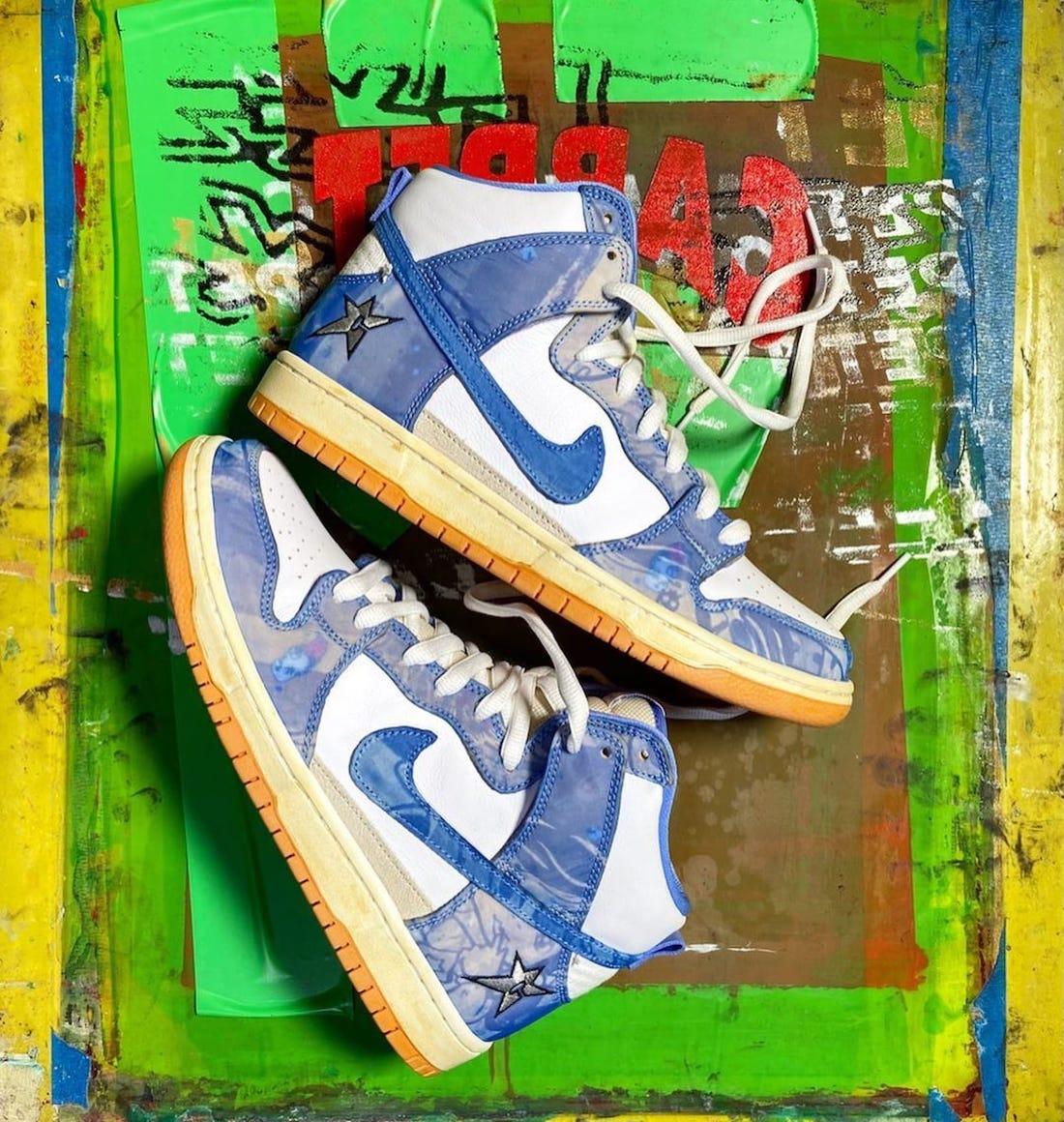 Carpet Company Nike SB Dunk High Release Details
