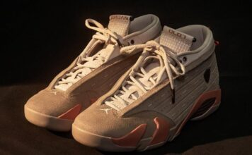 Clot Air Jordan 14 Low Terracotta DC9857-200 Release Date