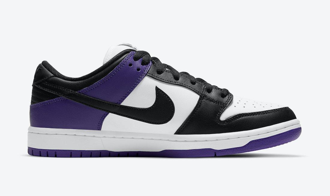 Court Purple Nike SB Dunk Low BQ6817-500 Release Date