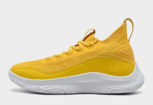 Curry Flow 8 Yellow 3023085-701 Release Date Info