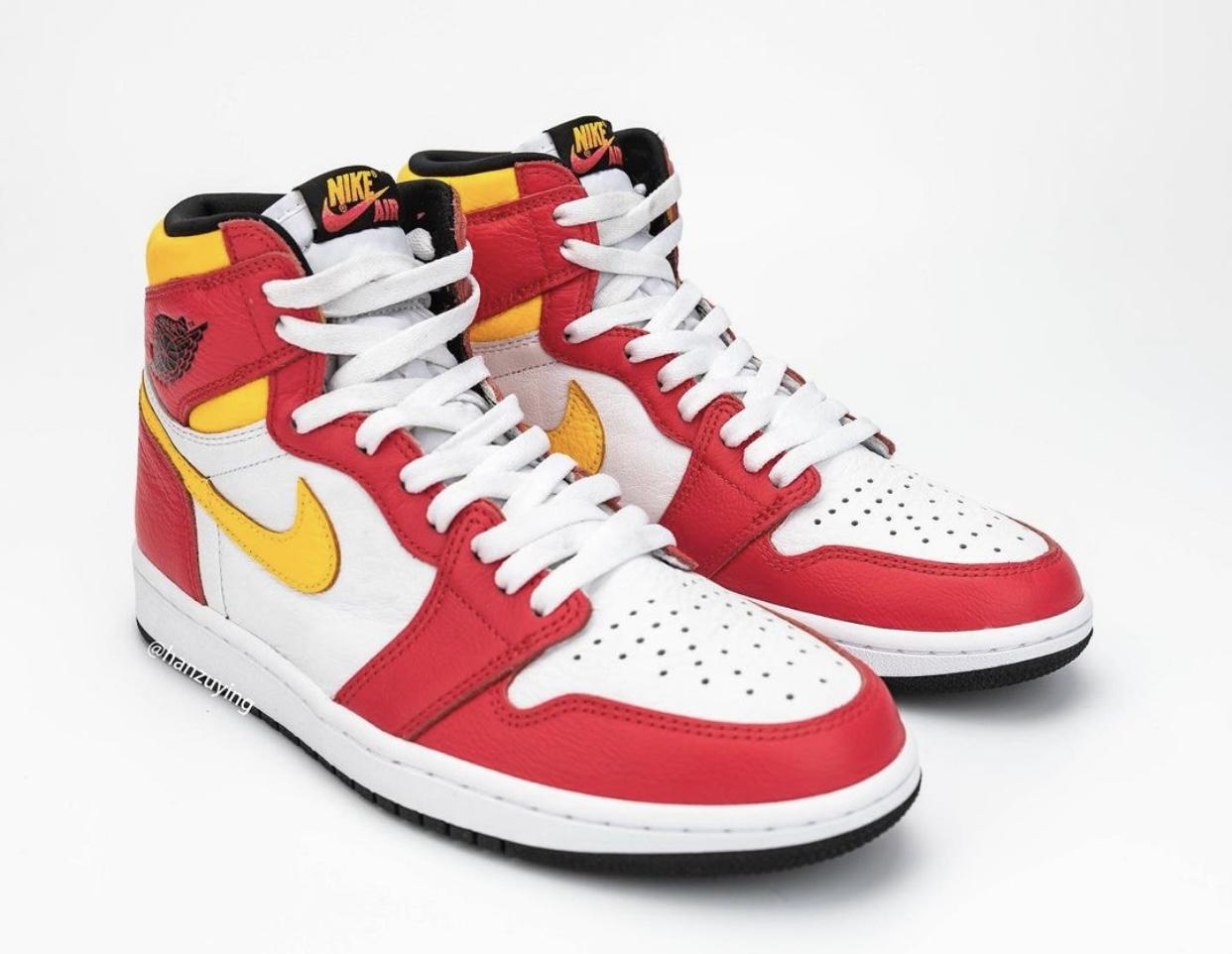 Fusion Red Air Jordan 1 555088-603