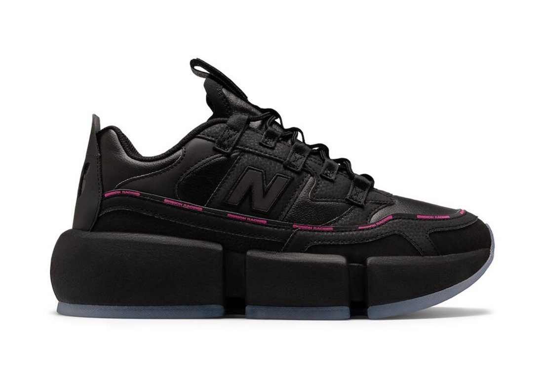Jaden Smith New Balance Vision Racer Black Pink Release Date Info