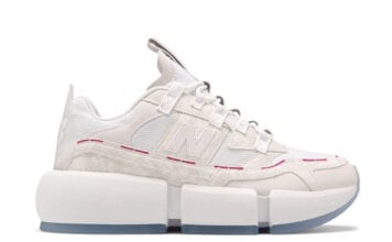 Jaden Smith New Balance Vision Racer White Pink