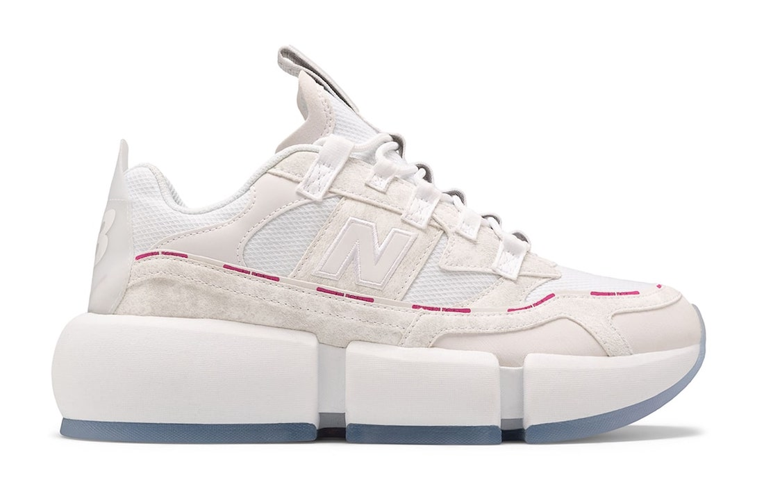 Jaden Smith New Balance Vision Racer White Pink Release Date Info
