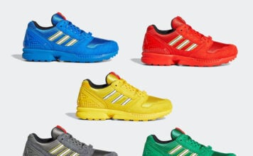 LEGO adidas ZX 8000 Color Pack Release Date Info