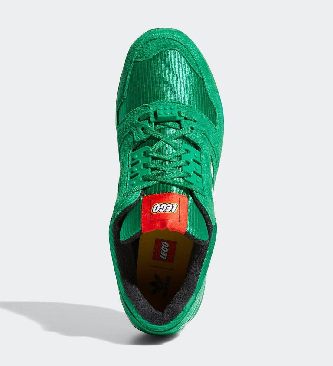 LEGO adidas ZX 8000 Green FY7082 Release Date Info