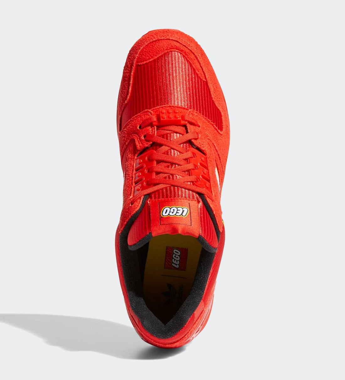 LEGO adidas ZX 8000 Red FY7084 Release Date Info