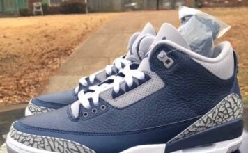 Midnight Navy Air Jordan 3 CT8532-401 Box