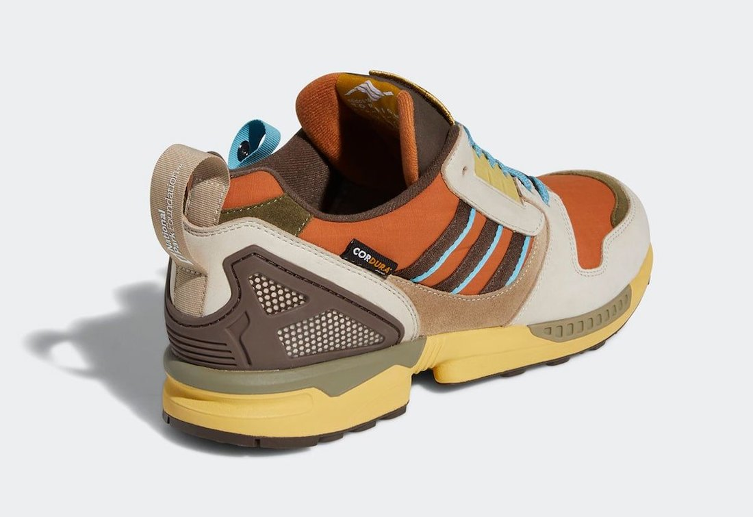 National Park Foundation adidas ZX 8000 Yellowstone FY5168 Release Date Info