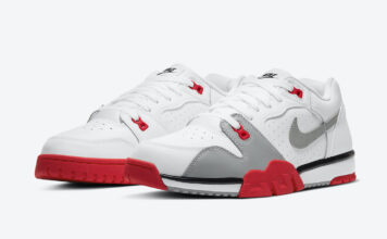 Nike Air Cross Trainer Low Bright Crimson CQ9182-105 Release Date Info