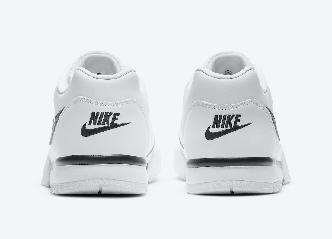 Nike Air Cross Trainer Low White Black Grey CQ9182-106 Release Date Info