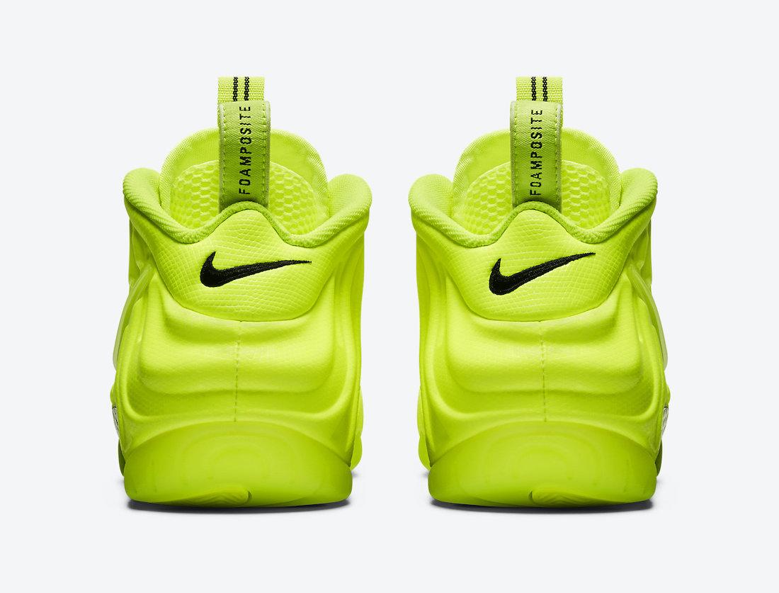 Nike Air Foamposite Pro Volt 2021 624041-700 Release Date Info
