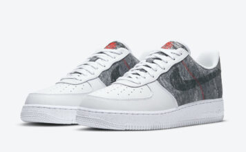 Nike Air Force 1 07 LV8 White Smoke Grey CV1698-100 Release Date Info