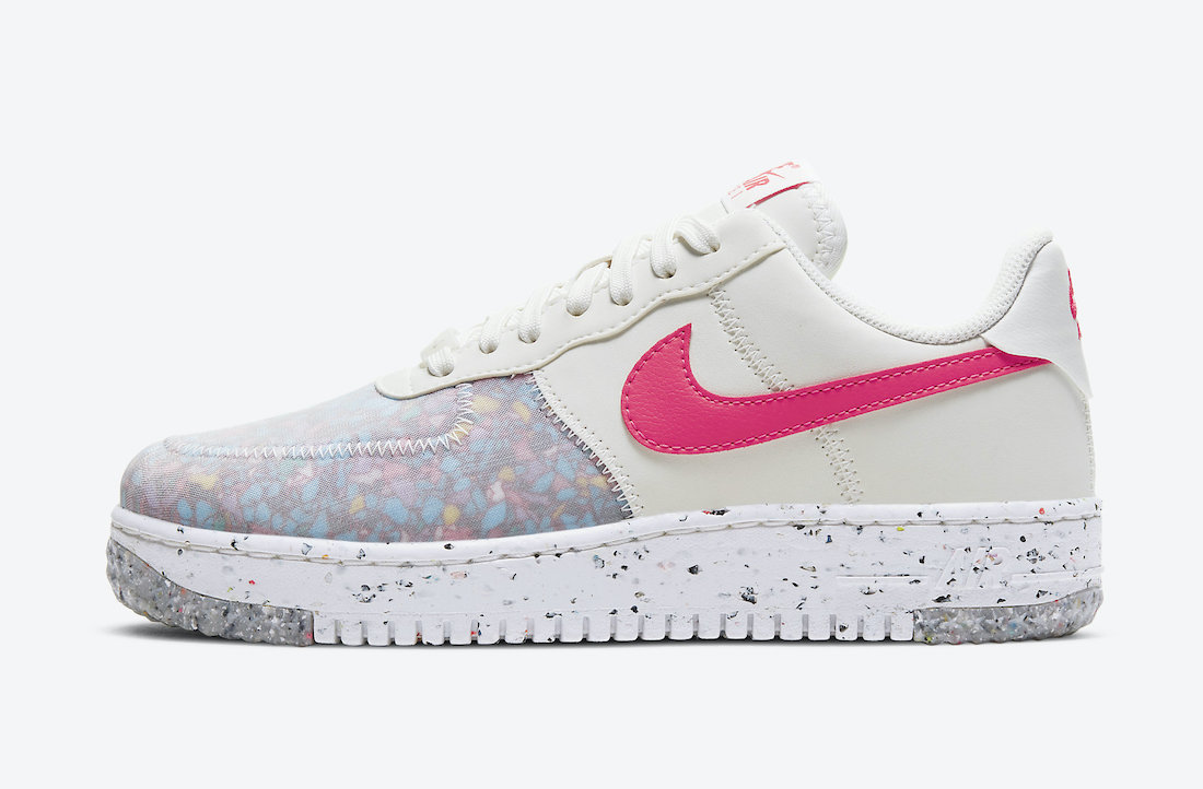 Nike Air Force 1 Crater Siren Red CT1986-101 Release Date Info