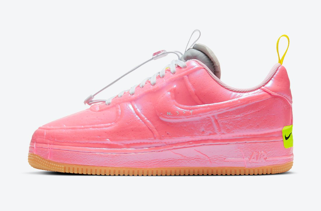 Nike Air Force 1 Experimental Racer Pink CV1754-600 Release Date