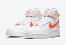 Nike Air Force 1 High Orange Pearl 334031-118 Release Date Info