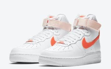 Nike Air Force 1 High Orange Pearl 334031-118 Release Date Info