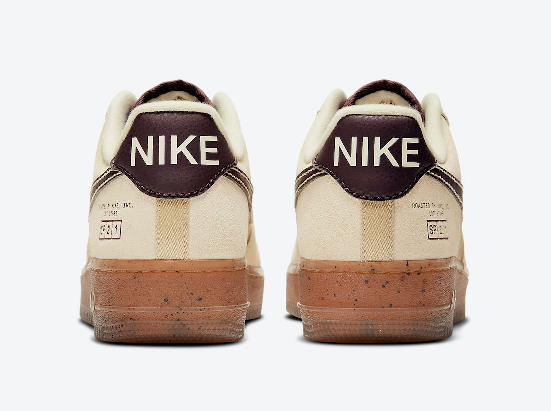 Nike Air Force 1 Low Coffee DD5227-234 Release Date Info