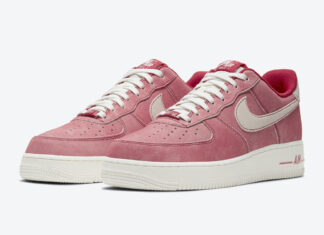 Nike Air Force 1 Low Dusty Red Suede DH0265-600 Release Date Info