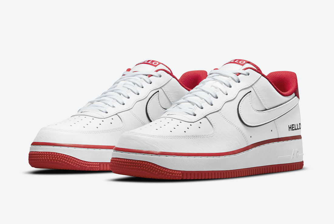 Nike Air Force 1 Low Hello CZ0327-100 Release Date Info