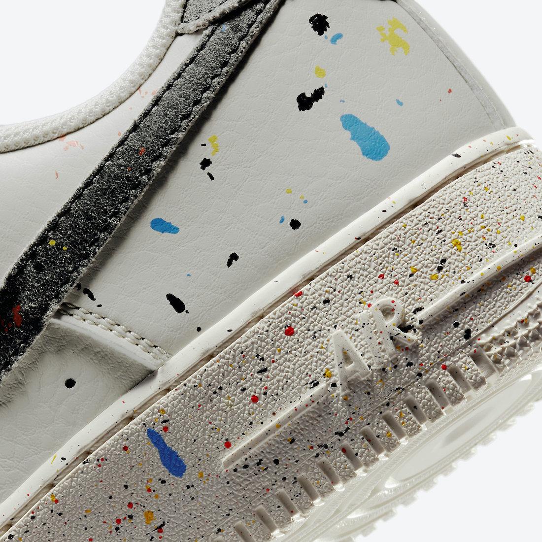 Nike Air Force 1 Low Paint Splatter CZ0339-001 Release Date Info