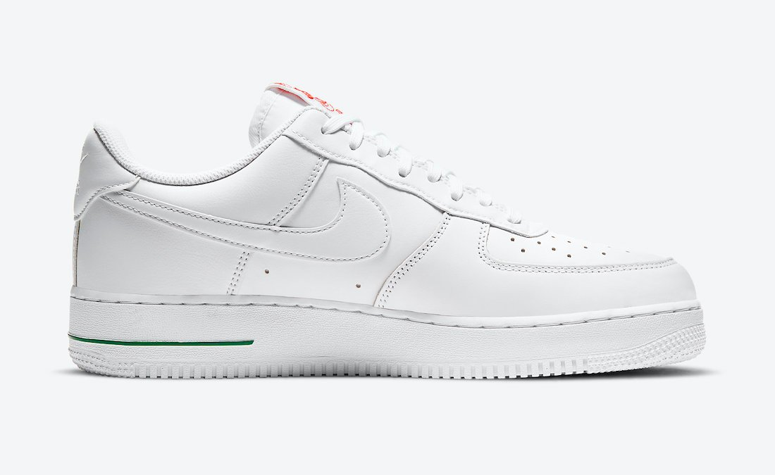Nike Air Force 1 Low Rose White CU6312-100 Release Date
