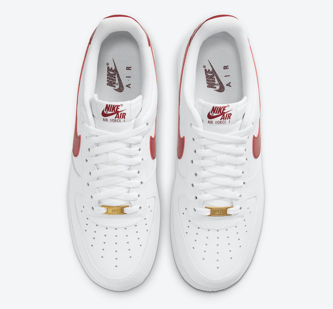 Nike Air Force 1 Low Team Red CZ0326-100 Release Date Info