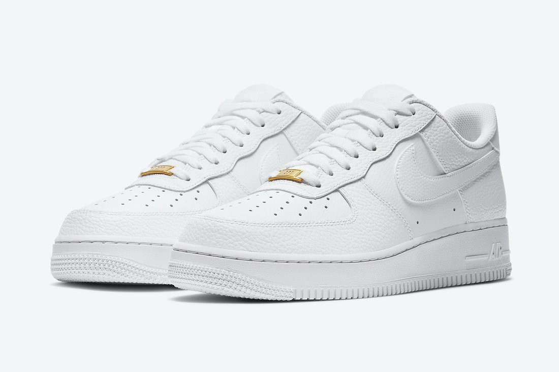 Nike Air Force 1 Low Triple White CZ0326-101 Release Date Info
